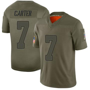 Youth Nike Buffalo Bills Cory Carter Camo 2019 Salute to Service Jersey - Limited