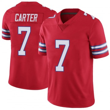 Youth Nike Buffalo Bills Cory Carter Red Color Rush Vapor Untouchable Jersey - Limited