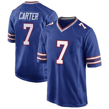 Youth Nike Buffalo Bills Cory Carter Royal Blue Team Color Jersey - Game