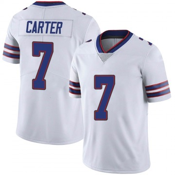 Youth Nike Buffalo Bills Cory Carter White Color Rush Vapor Untouchable Jersey - Limited