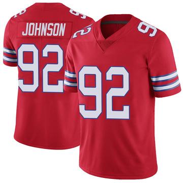 Youth Nike Buffalo Bills Darryl Johnson Jr. Red Color Rush Vapor Untouchable Jersey - Limited