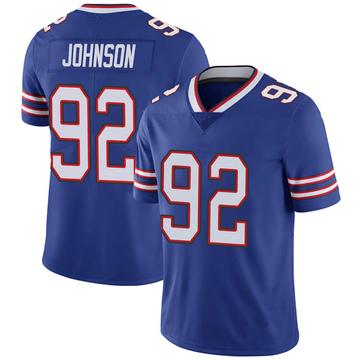 Youth Nike Buffalo Bills Darryl Johnson Jr. Royal 100th Vapor Jersey - Limited