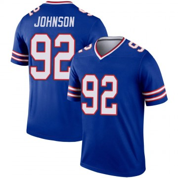 Youth Nike Buffalo Bills Darryl Johnson Jr. Royal Inverted Jersey - Legend
