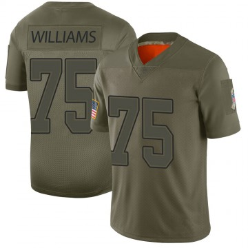 Youth Nike Buffalo Bills Daryl Williams Camo 2019 Salute to Service Jersey - Limited