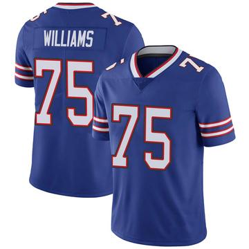 Youth Nike Buffalo Bills Daryl Williams Royal 100th Vapor Jersey - Limited