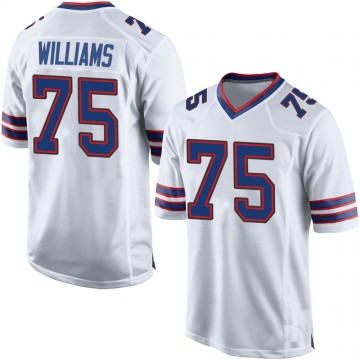 Youth Nike Buffalo Bills Daryl Williams White Jersey - Game
