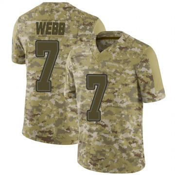 Youth Nike Buffalo Bills Davis Webb Camo 2018 Salute to Service Jersey - Limited