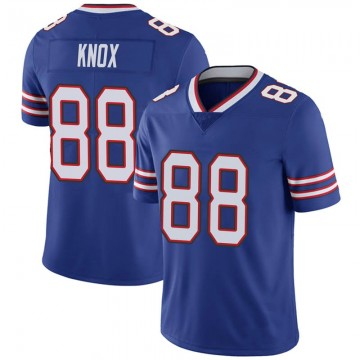 Youth Nike Buffalo Bills Dawson Knox Royal 100th Vapor Jersey - Limited