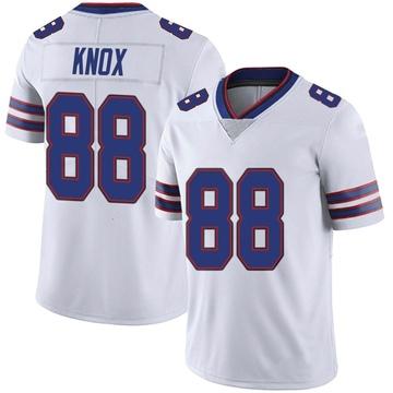 Youth Nike Buffalo Bills Dawson Knox White Color Rush Vapor Untouchable Jersey - Limited