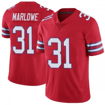 Youth Nike Buffalo Bills Dean Marlowe Red Color Rush Vapor Untouchable Jersey - Limited
