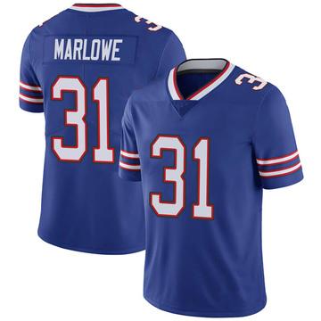 Youth Nike Buffalo Bills Dean Marlowe Royal 100th Vapor Jersey - Limited