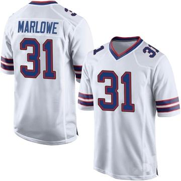 Youth Nike Buffalo Bills Dean Marlowe White Jersey - Game
