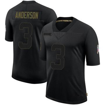 Youth Nike Buffalo Bills Derek Anderson Black 2020 Salute To Service Jersey - Limited