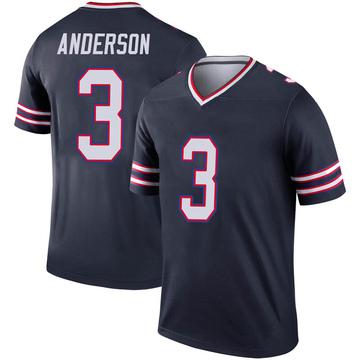 Youth Nike Buffalo Bills Derek Anderson Navy Inverted Jersey - Legend