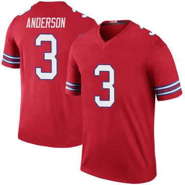 Youth Nike Buffalo Bills Derek Anderson Red Color Rush Jersey - Legend