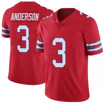 Youth Nike Buffalo Bills Derek Anderson Red Color Rush Vapor Untouchable Jersey - Limited