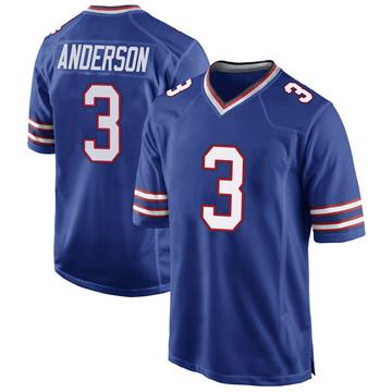 Youth Nike Buffalo Bills Derek Anderson Royal Blue Team Color Jersey - Game