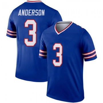 Youth Nike Buffalo Bills Derek Anderson Royal Inverted Jersey - Legend