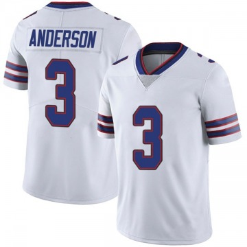 Youth Nike Buffalo Bills Derek Anderson White Color Rush Vapor Untouchable Jersey - Limited