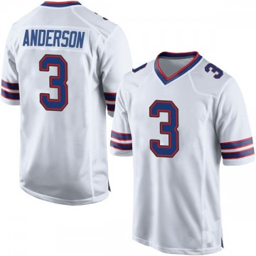 Youth Nike Buffalo Bills Derek Anderson White Jersey - Game