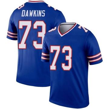 Youth Nike Buffalo Bills Dion Dawkins Royal Jersey - Legend