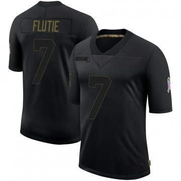 Youth Nike Buffalo Bills Doug Flutie Black 2020 Salute To Service Jersey - Limited