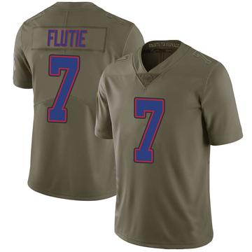 Youth Nike Buffalo Bills Doug Flutie Green 2017 Salute to Service Jersey - Limited