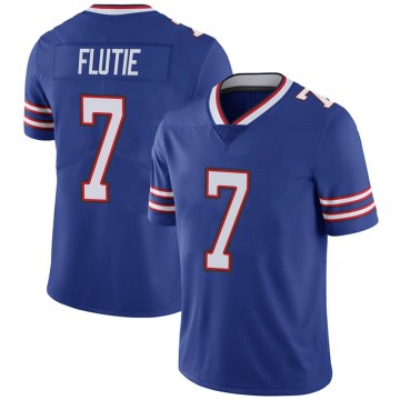 Youth Nike Buffalo Bills Doug Flutie Royal Team Color Vapor Untouchable Jersey - Limited