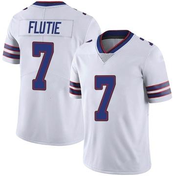 Youth Nike Buffalo Bills Doug Flutie White Color Rush Vapor Untouchable Jersey - Limited