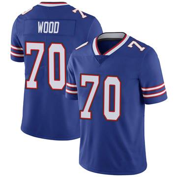 Youth Nike Buffalo Bills Eric Wood Royal 100th Vapor Jersey - Limited