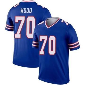 Youth Nike Buffalo Bills Eric Wood Royal Jersey - Legend