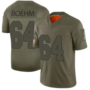 Youth Nike Buffalo Bills Evan Boehm Camo 2019 Salute to Service Jersey - Limited