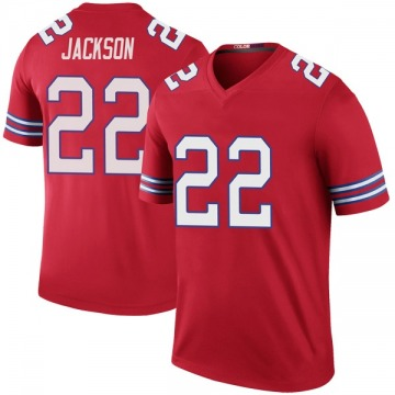 Youth Nike Buffalo Bills Fred Jackson Red Color Rush Jersey - Legend