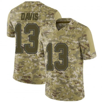 Youth Nike Buffalo Bills Gabriel Davis Camo 2018 Salute to Service Jersey - Limited