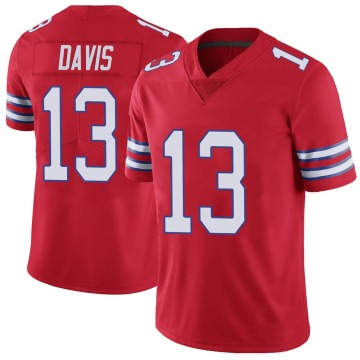 Youth Nike Buffalo Bills Gabriel Davis Red Color Rush Vapor Untouchable Jersey - Limited