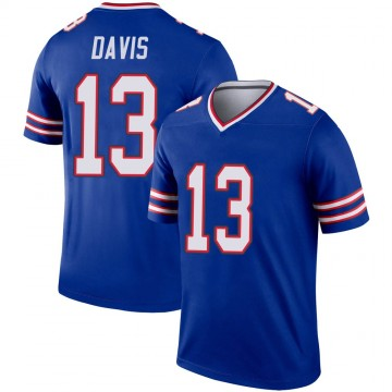 Youth Nike Buffalo Bills Gabriel Davis Royal Jersey - Legend