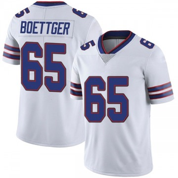 Youth Nike Buffalo Bills Ike Boettger White Color Rush Vapor Untouchable Jersey - Limited
