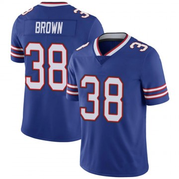Youth Nike Buffalo Bills Isaiah Brown Brown Royal 100th Vapor Jersey - Limited