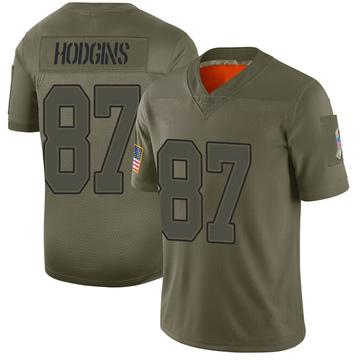 Youth Nike Buffalo Bills Isaiah Hodgins Camo 2019 Salute to Service Jersey - Limited