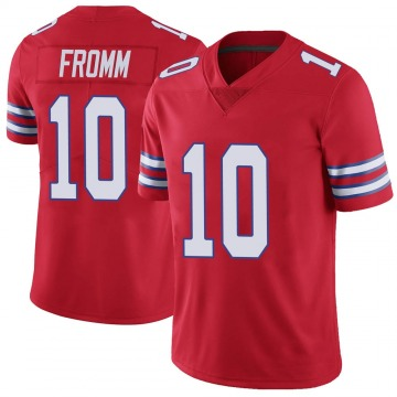 Youth Nike Buffalo Bills Jake Fromm Red Color Rush Vapor Untouchable Jersey - Limited