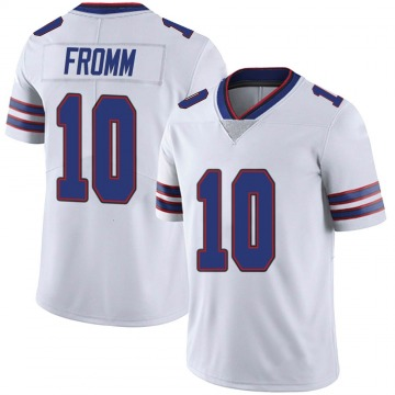 Youth Nike Buffalo Bills Jake Fromm White Color Rush Vapor Untouchable Jersey - Limited