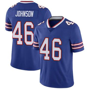 Youth Nike Buffalo Bills Jaquan Johnson Royal 100th Vapor Jersey - Limited