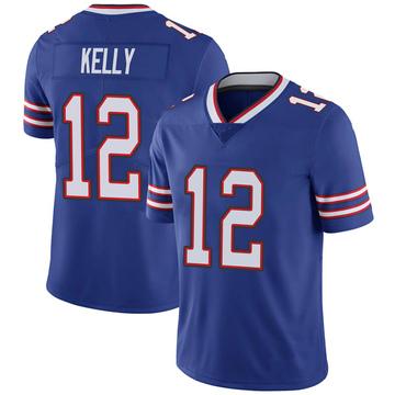 Youth Nike Buffalo Bills Jim Kelly Royal 100th Vapor Jersey - Limited