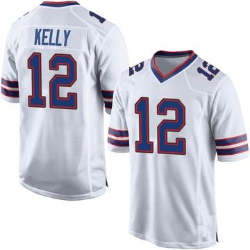 Youth Nike Buffalo Bills Jim Kelly White Jersey - Game