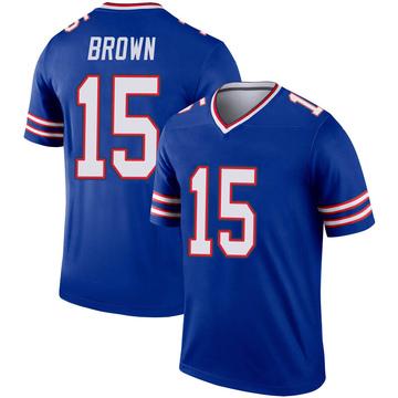 Youth Nike Buffalo Bills John Brown Brown Inverted Royal Jersey - Legend
