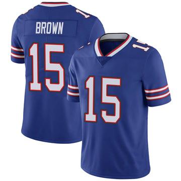 Youth Nike Buffalo Bills John Brown Brown Royal 100th Vapor Jersey - Limited