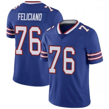 Youth Nike Buffalo Bills Jon Feliciano Royal Team Color Vapor Untouchable Jersey - Limited