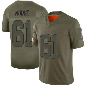Youth Nike Buffalo Bills Jordan Mudge Camo 2019 Salute to Service Jersey - Limited