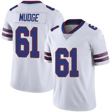 Youth Nike Buffalo Bills Jordan Mudge White Color Rush Vapor Untouchable Jersey - Limited