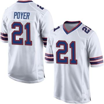 Youth Nike Buffalo Bills Jordan Poyer White Jersey - Game